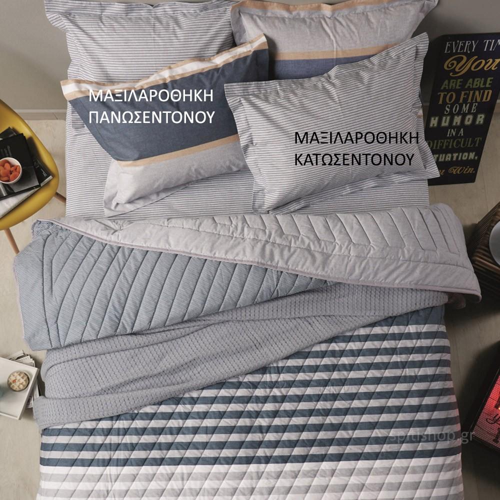 Ζεύγος Μαξιλαροθήκες Oxford Kentia Versus Caspian 01