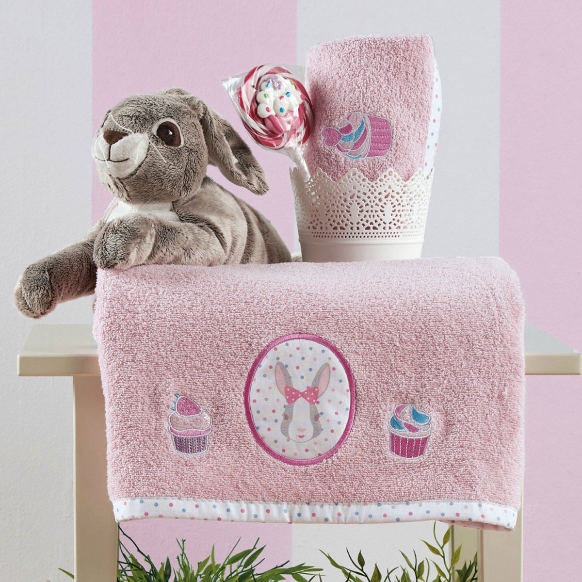 Παιδικές Πετσέτες (Σετ 2τμχ) Kentia Kids Tea Party home   παιδικά   πετσέτες παιδικές