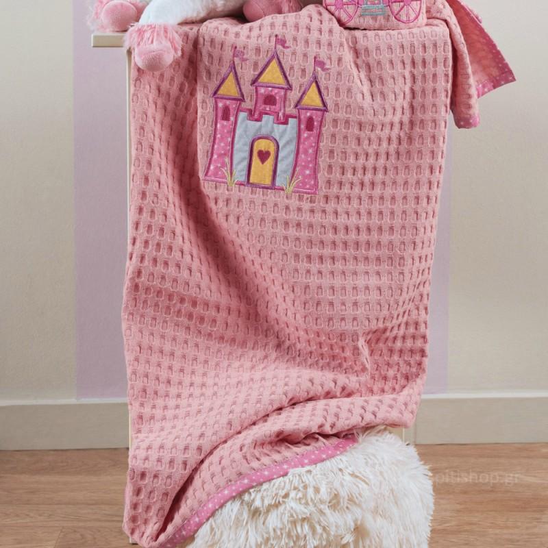 Κουβέρτα Πικέ Κούνιας Kentia Baby Principal