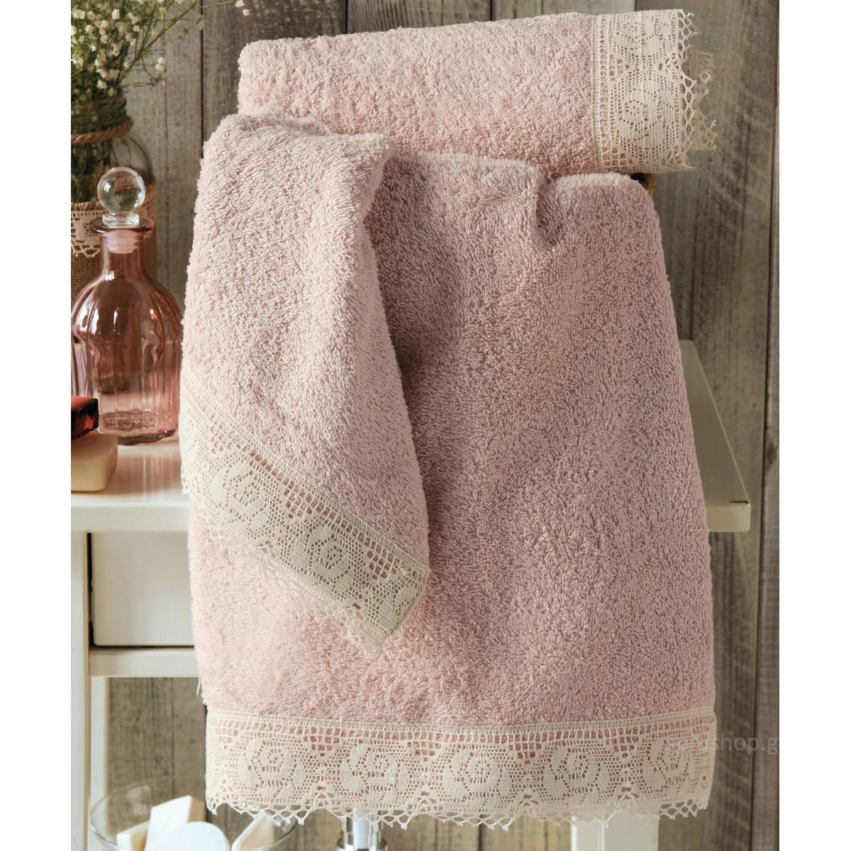 Πετσέτες Μπάνιου (Σετ 2τμχ) Kentia Bath Plait