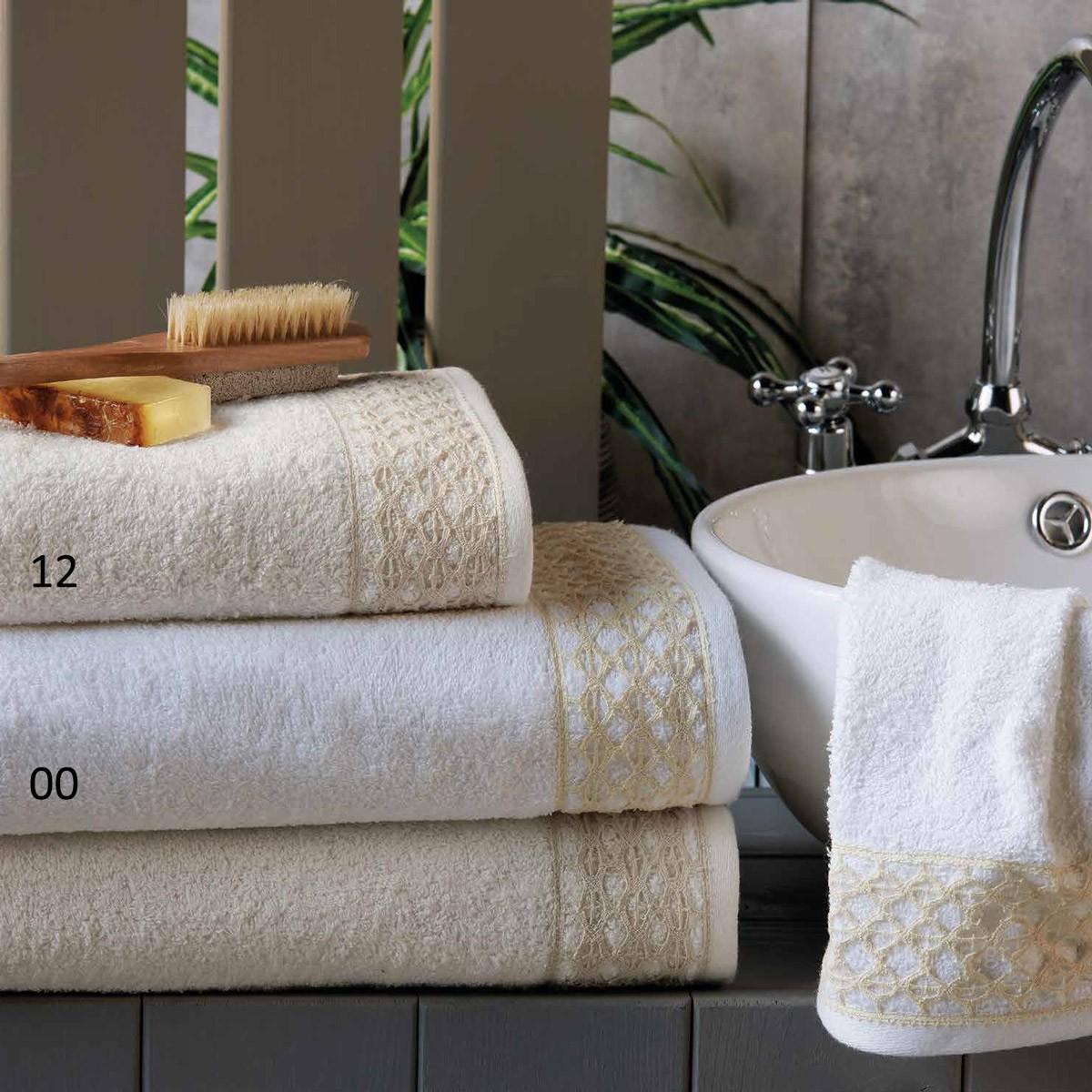 Πετσέτες Μπάνιου (Σετ 2τμχ) Kentia Bath Memories