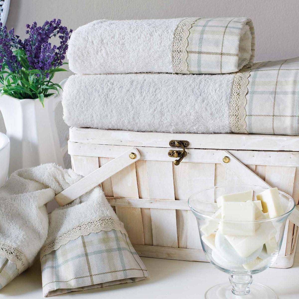 Πετσέτες Μπάνιου (Σετ 3τμχ) Kentia Bath Aventina 12