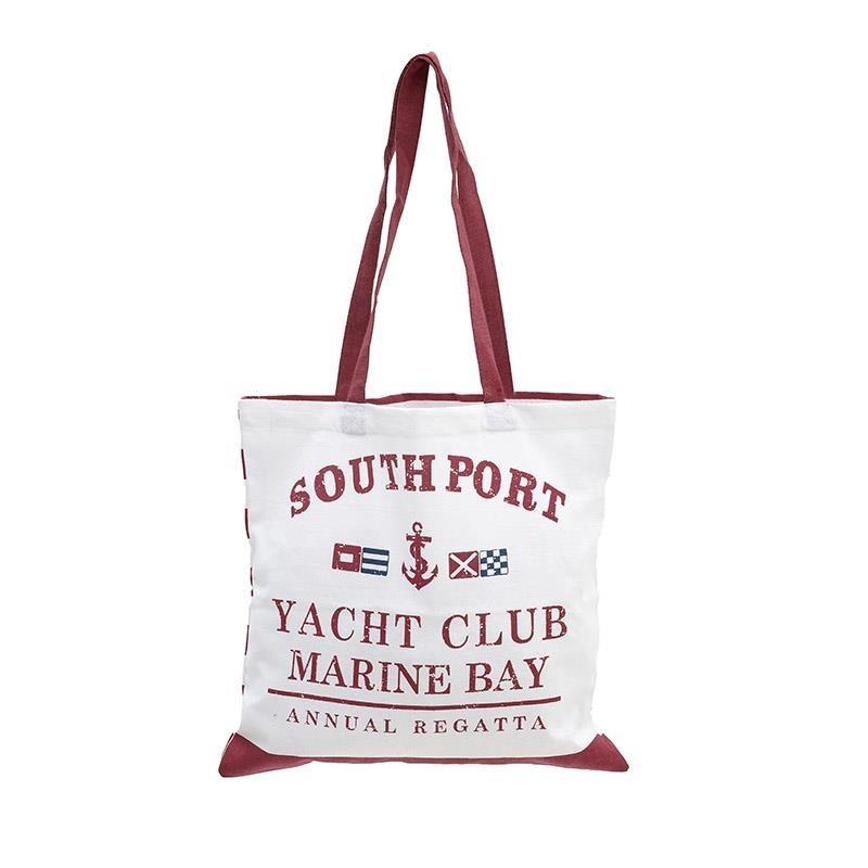 Τσάντα Παραλίας InArt Yacht Bordo 5-42-803-0008 home   θαλάσσης   τσάντες παραλίας