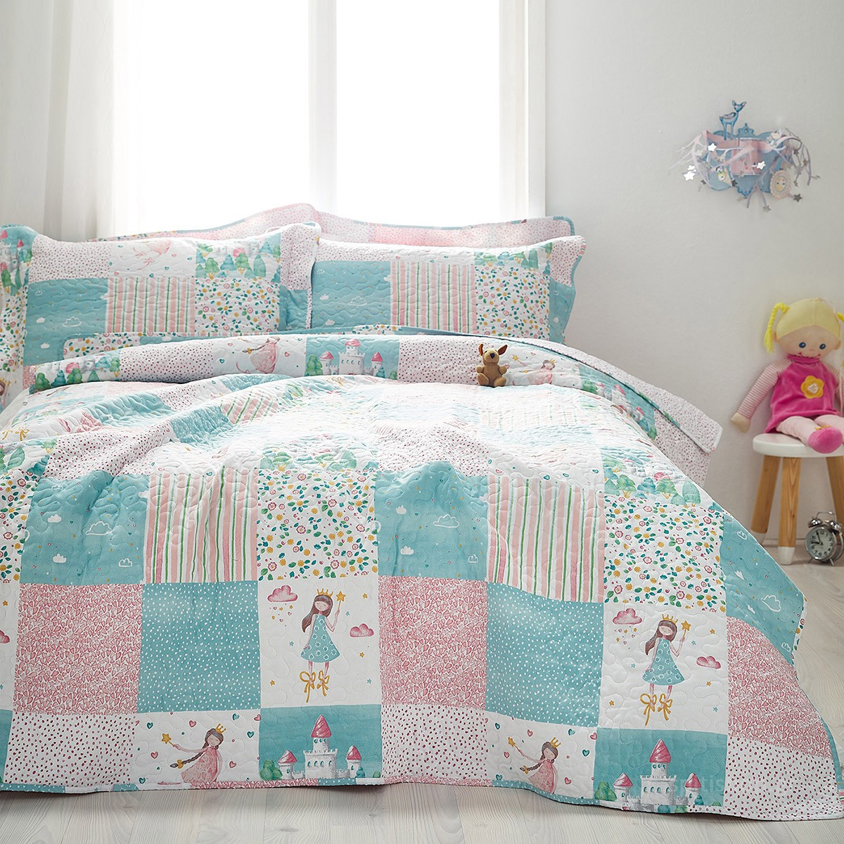 Κουβερλί Μονό (Σετ) Gofis Home Princess 486