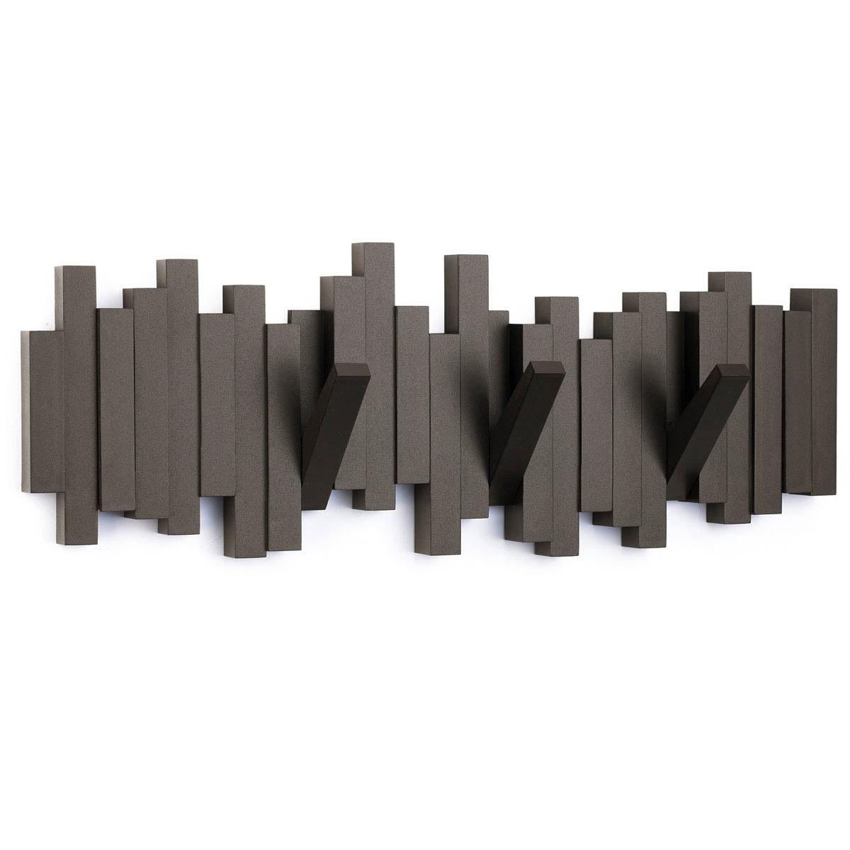 Κρεμάστρα Τοίχου Marva Sticks Brown 318211-213 home   διακόσμηση   κλειδοθήκες   κρεμάστρες