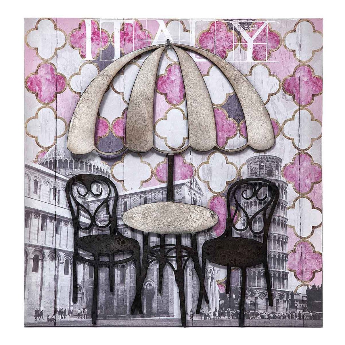 Καμβάς Marva Umbrella Pink 736041