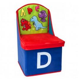 Παιδικό Καλάθι/Σκαμπώ Marva Chair Blue 744006