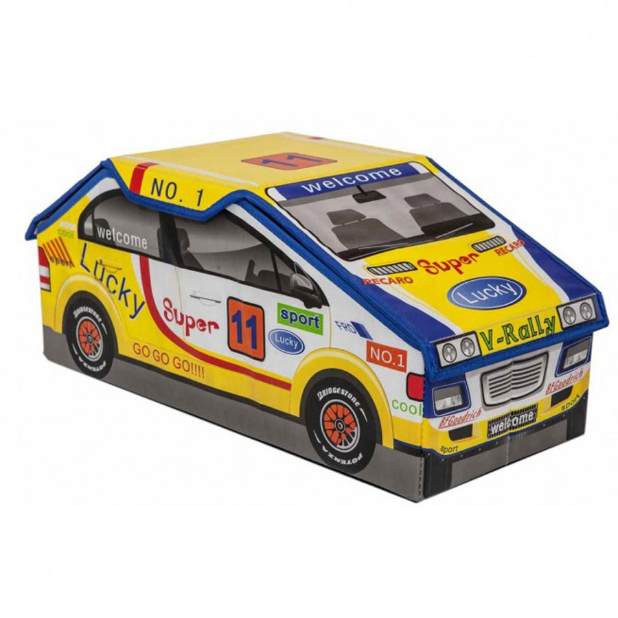 Παιδικό Καλάθι/Σκαμπό Marva Rally Yellow 744010