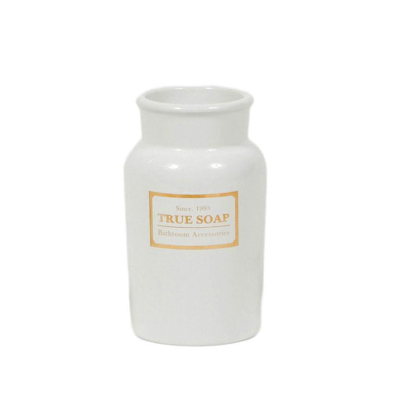 Ποτήρι Οδοντόβουρτσας Marva True Soap White 478149