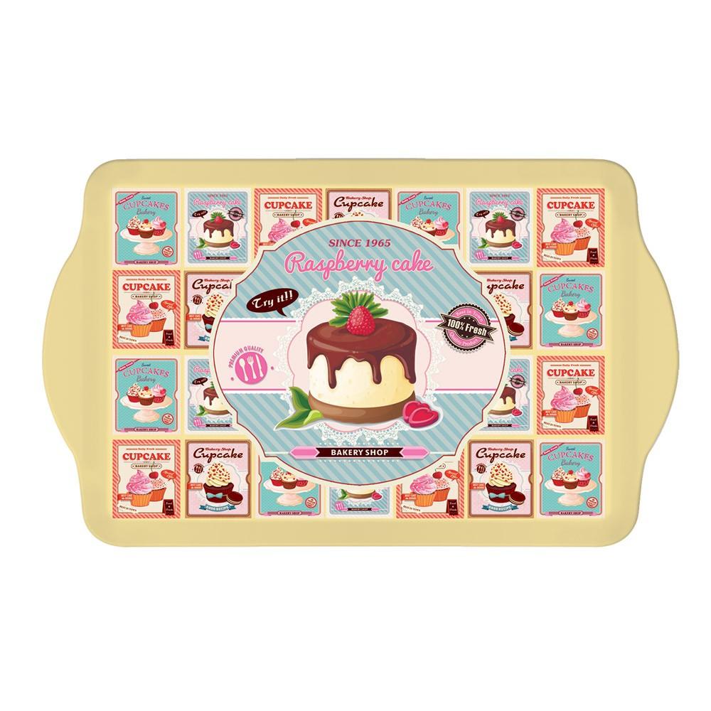 Δίσκος Σερβιρίσματος Marva Cupcakes Pink Small 531CUΡΡ home   κουζίνα   τραπεζαρία   είδη σερβιρίσματος
