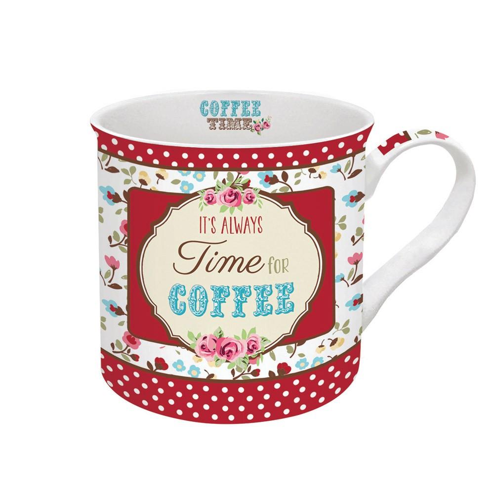 Κούπα Marva Ditsy Coffee Red 177DΙRΕ