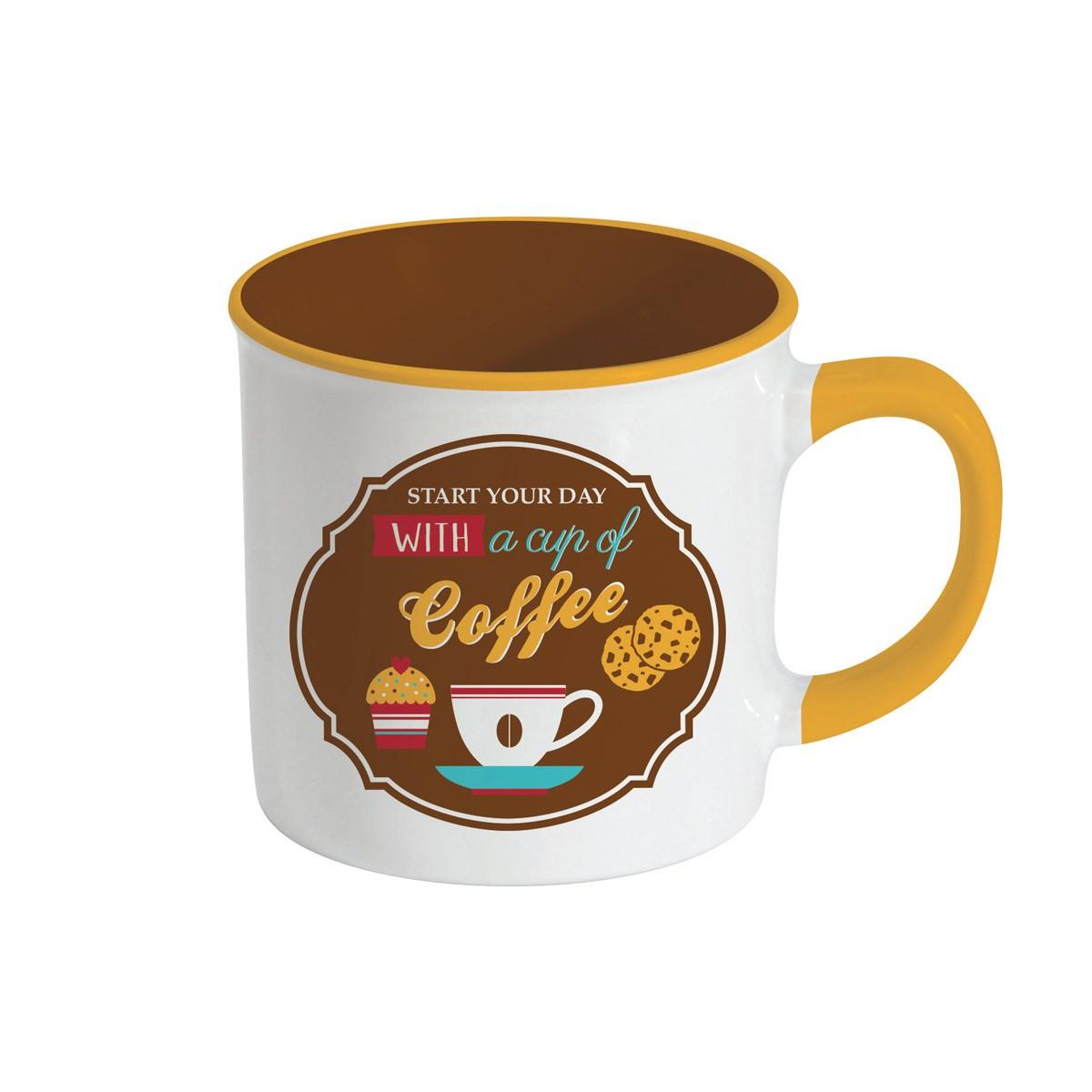 Κούπα Marva Retro Break Coffee Brown 1400RΒCΒ