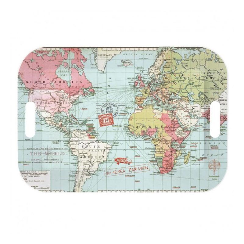 Δίσκος Σερβιρίσματος Marva World Map R0402ΜΑΡS