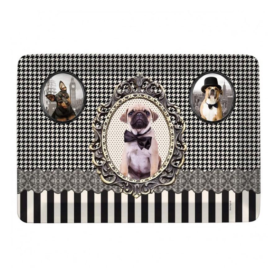 Δίσκος Σερβιρίσματος Marva Barocco Dogs ΒR101DΟGS