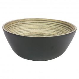 Μπωλ Ανάμειξης Marva Bamboo Black Large 02139130