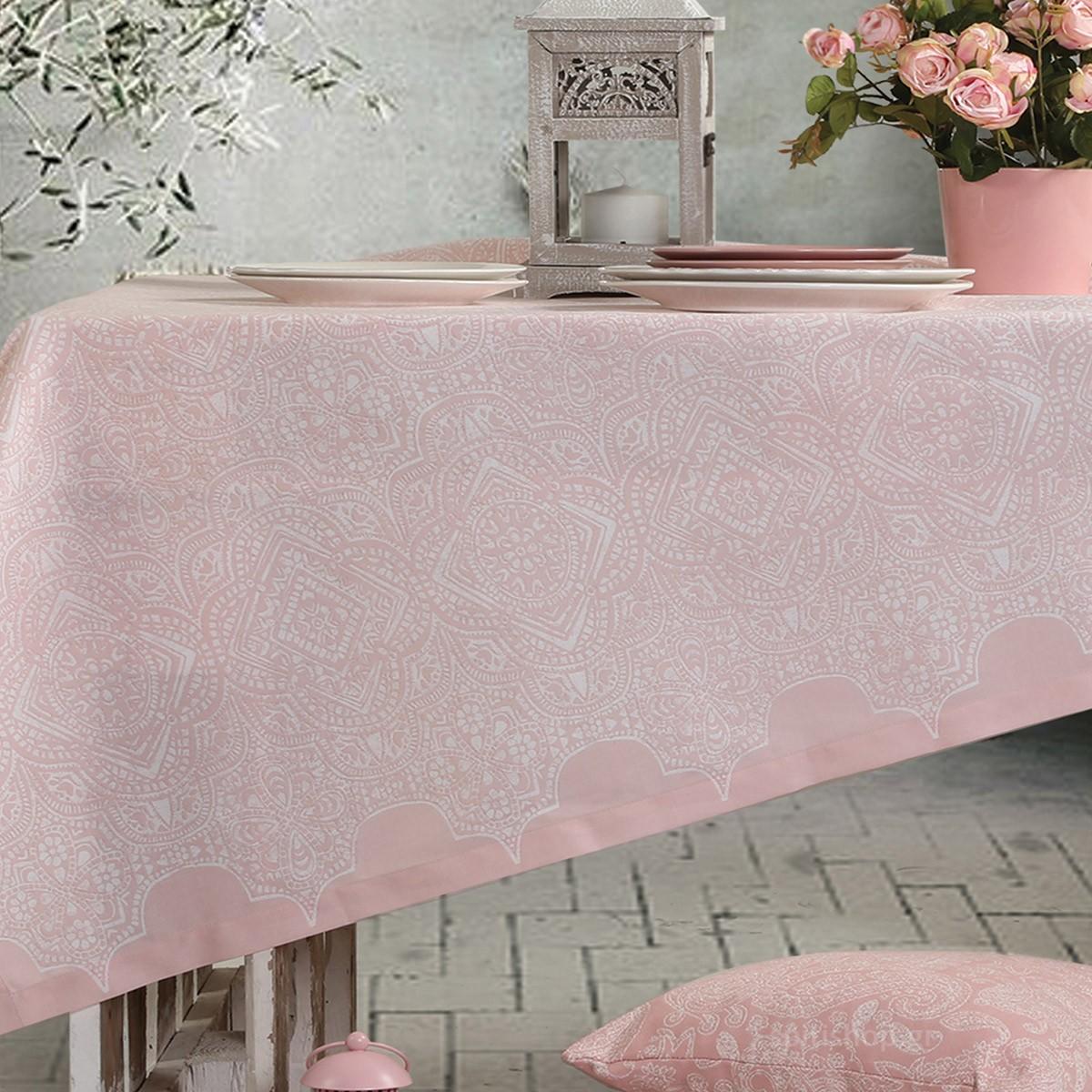 Τραπεζομάντηλο (140×180) Nef-Nef Henna Pink