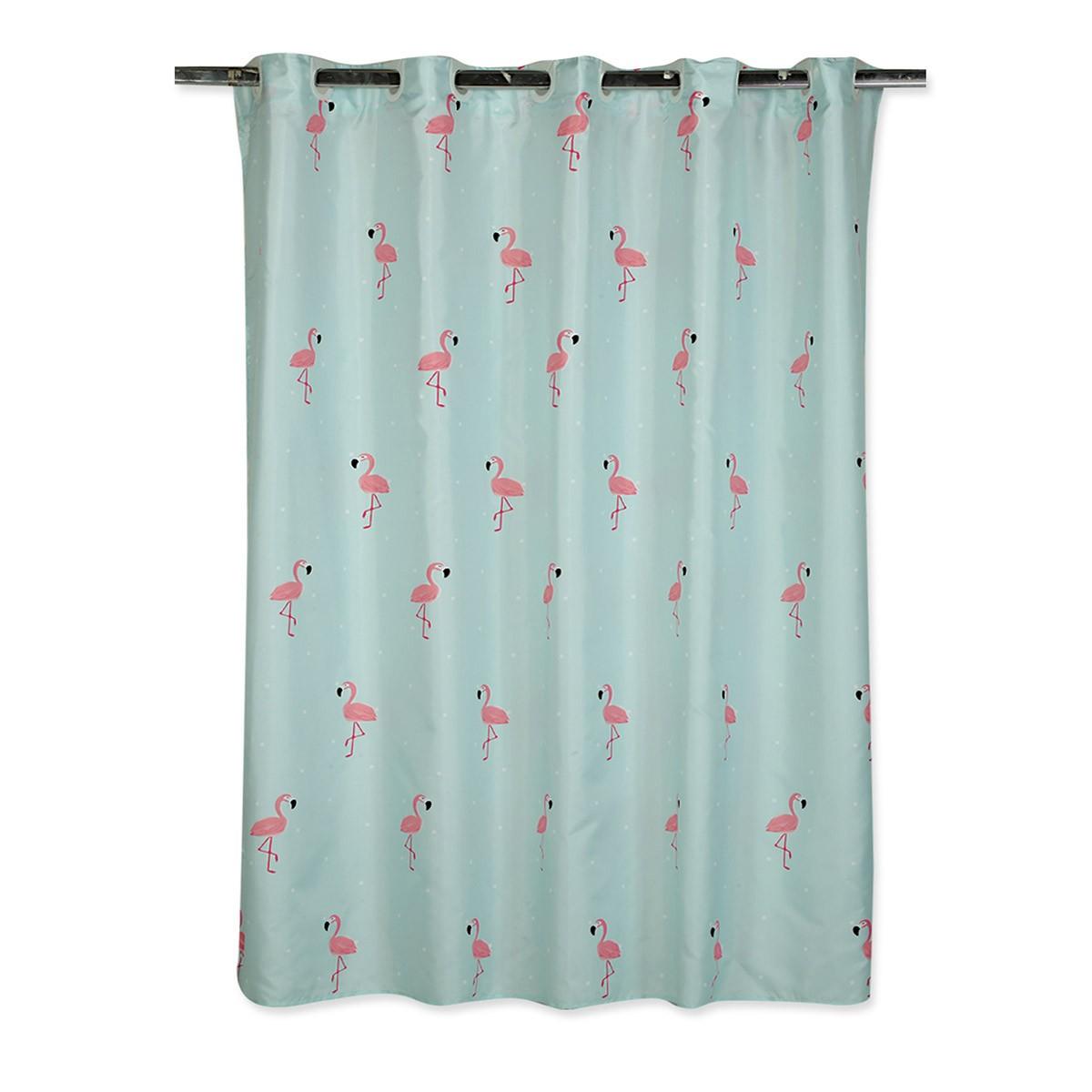 Κουρτίνα Μπάνιου (180×180) Nef-Nef Flamingo