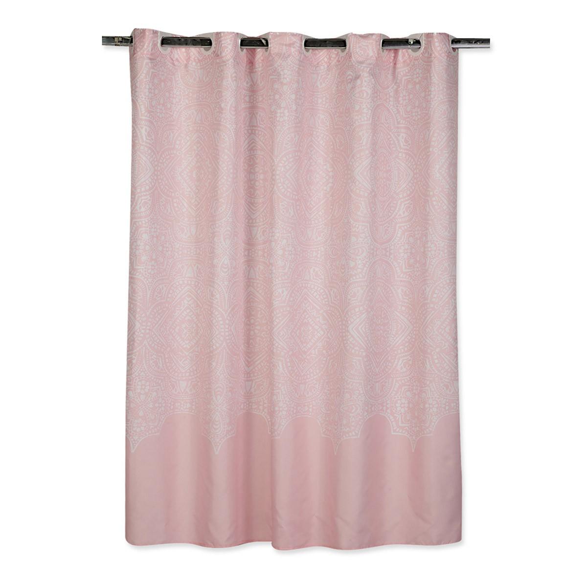 Κουρτίνα Μπάνιου (180×180) Nef-Nef Henna Pink 88381