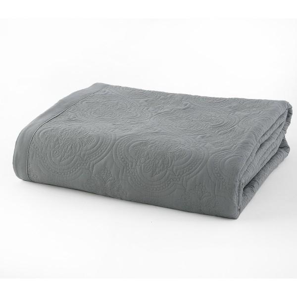 Κουβερλί Υπέρδιπλο Nef-Nef Elite Grey