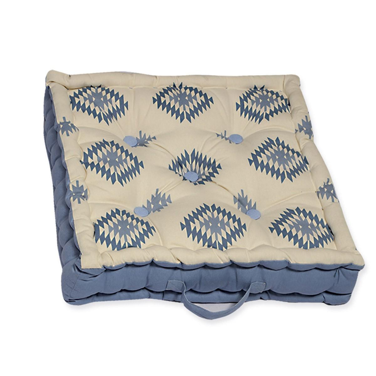 Μαξιλάρα Δαπέδου Nef-Nef Inkas Blue 88454