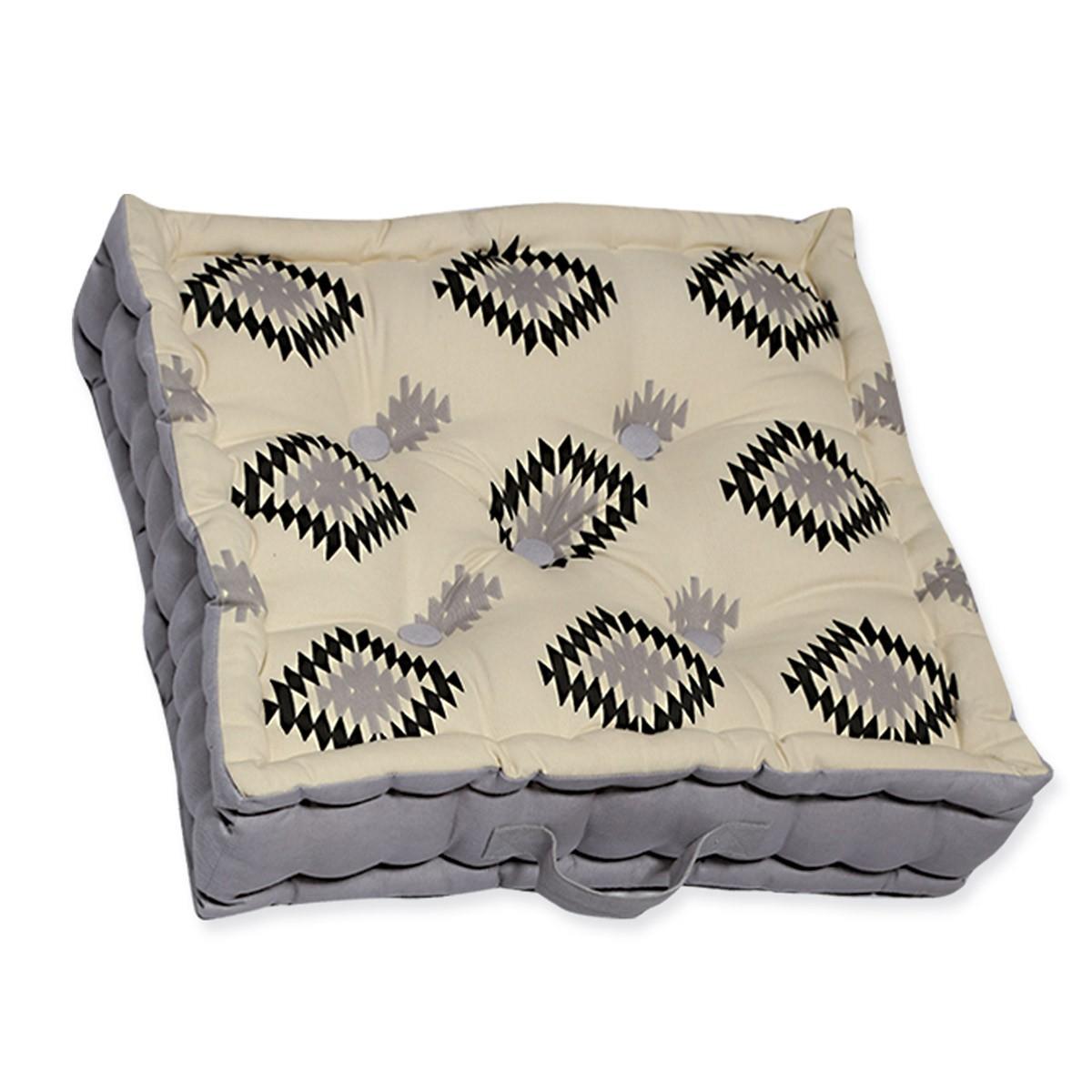 Μαξιλάρα Δαπέδου Nef-Nef Inkas Grey 88455