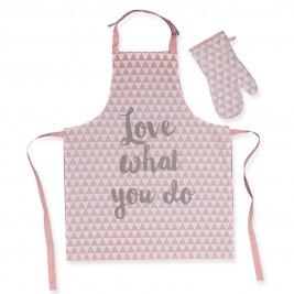 Σετ Κουζίνας 2τμχ Nef-Nef Mood Pink