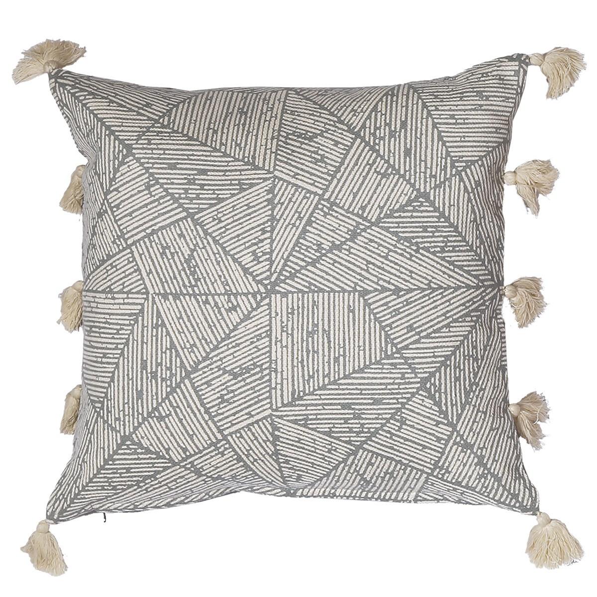 Διακοσμητικό Μαξιλάρι Nef-Nef Tiles Grey