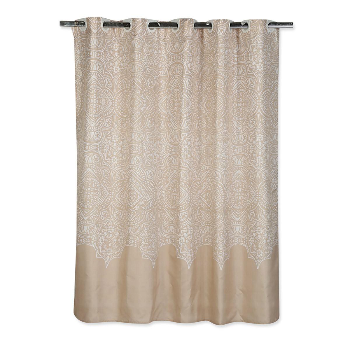 Κουρτίνα Μπάνιου (180×180) Nef-Nef Henna Linen
