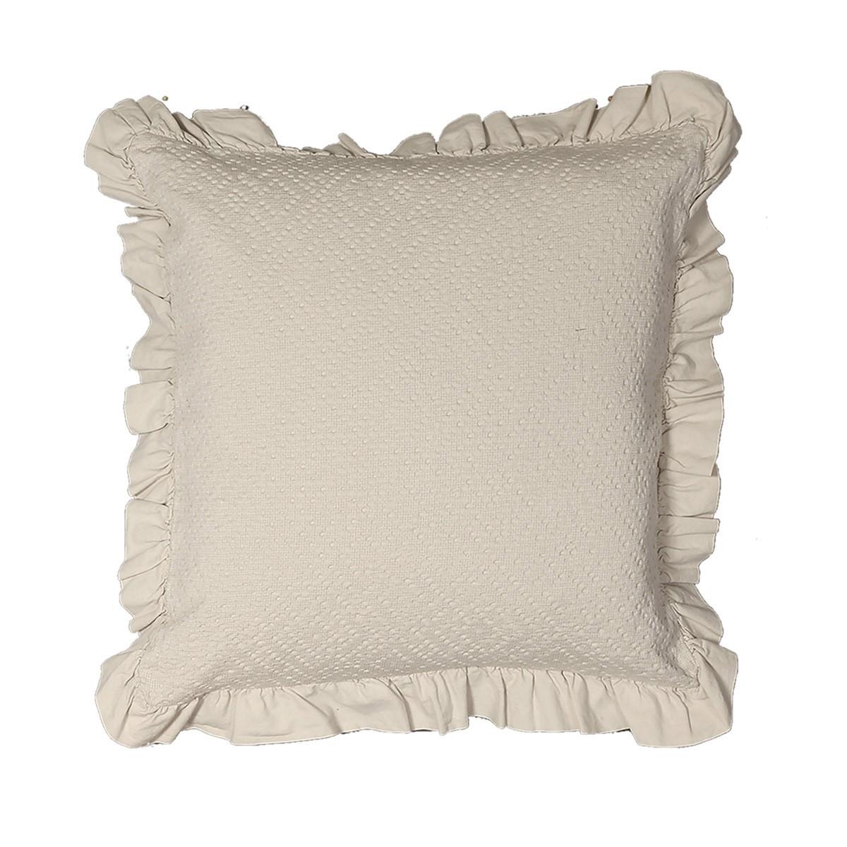 Διακοσμητικό Μαξιλάρι Nef-Nef Anthea Linen home   κρεβατοκάμαρα   διακοσμητικά μαξιλάρια