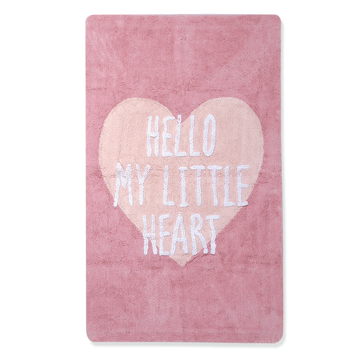 Παιδικό Χαλί (100x160) Nef-Nef Hello Pink