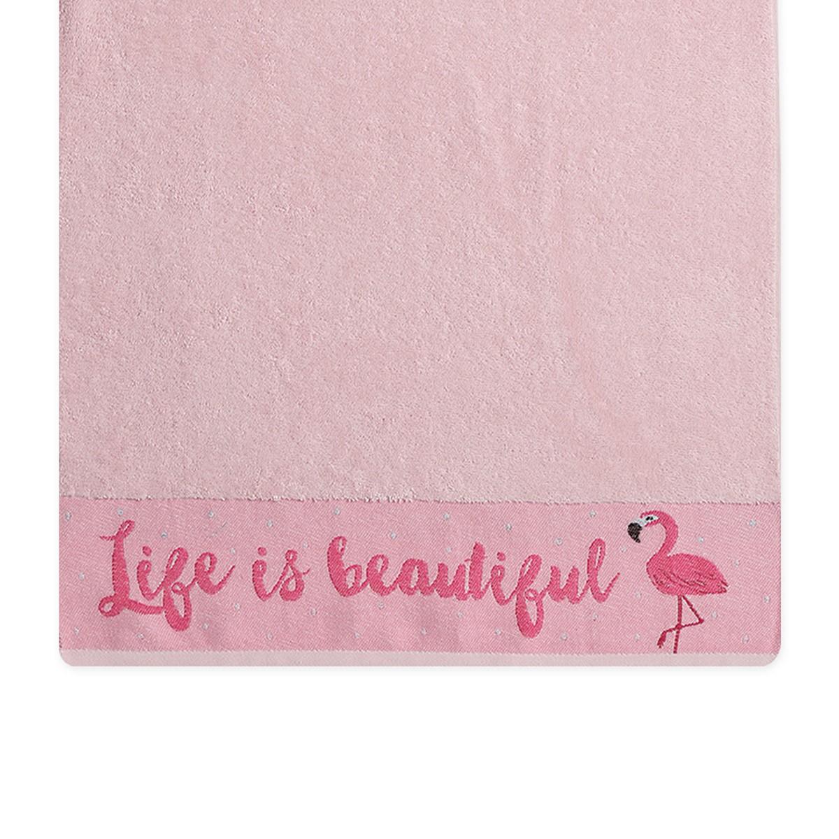 10dbc8629d1 ... Πετσέτα Προσώπου (50×90) Nef-Nef Flamingo
