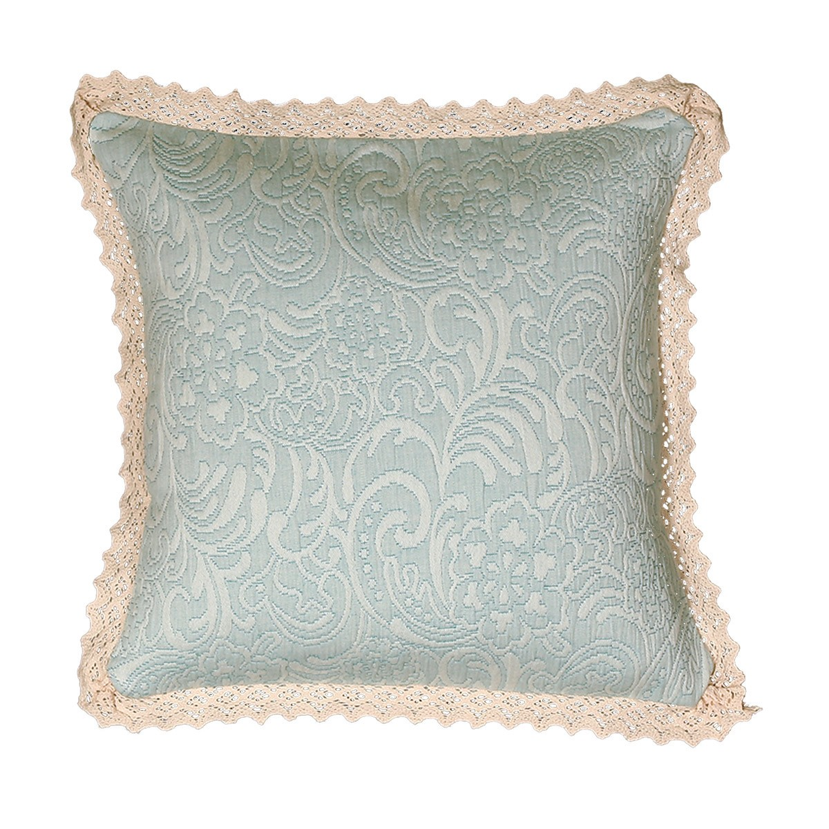 Διακοσμητικό Μαξιλάρι Nef-Nef Elisabeth Aqua home   κρεβατοκάμαρα   διακοσμητικά μαξιλάρια