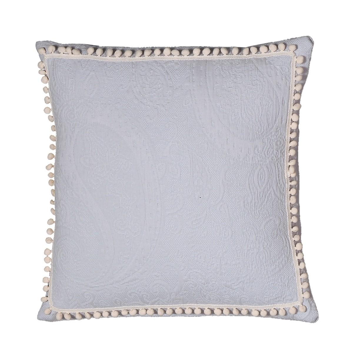 Διακοσμητικό Μαξιλάρι Nef-Nef Adelaid Grey