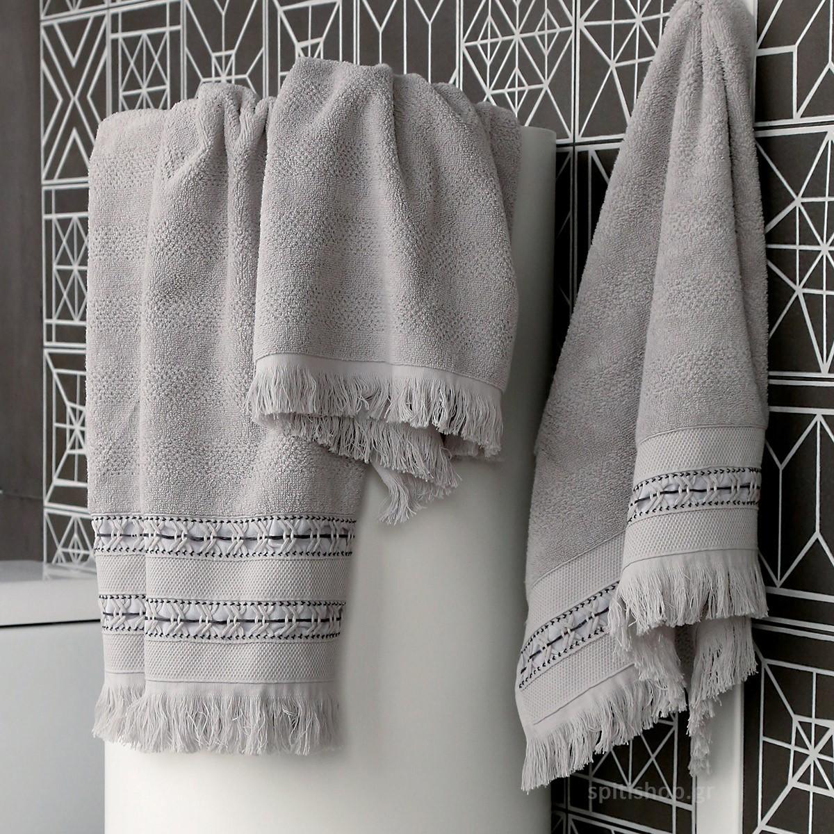 Πετσέτες Μπάνιου (Σετ 3τμχ) Nef-Nef Adiland