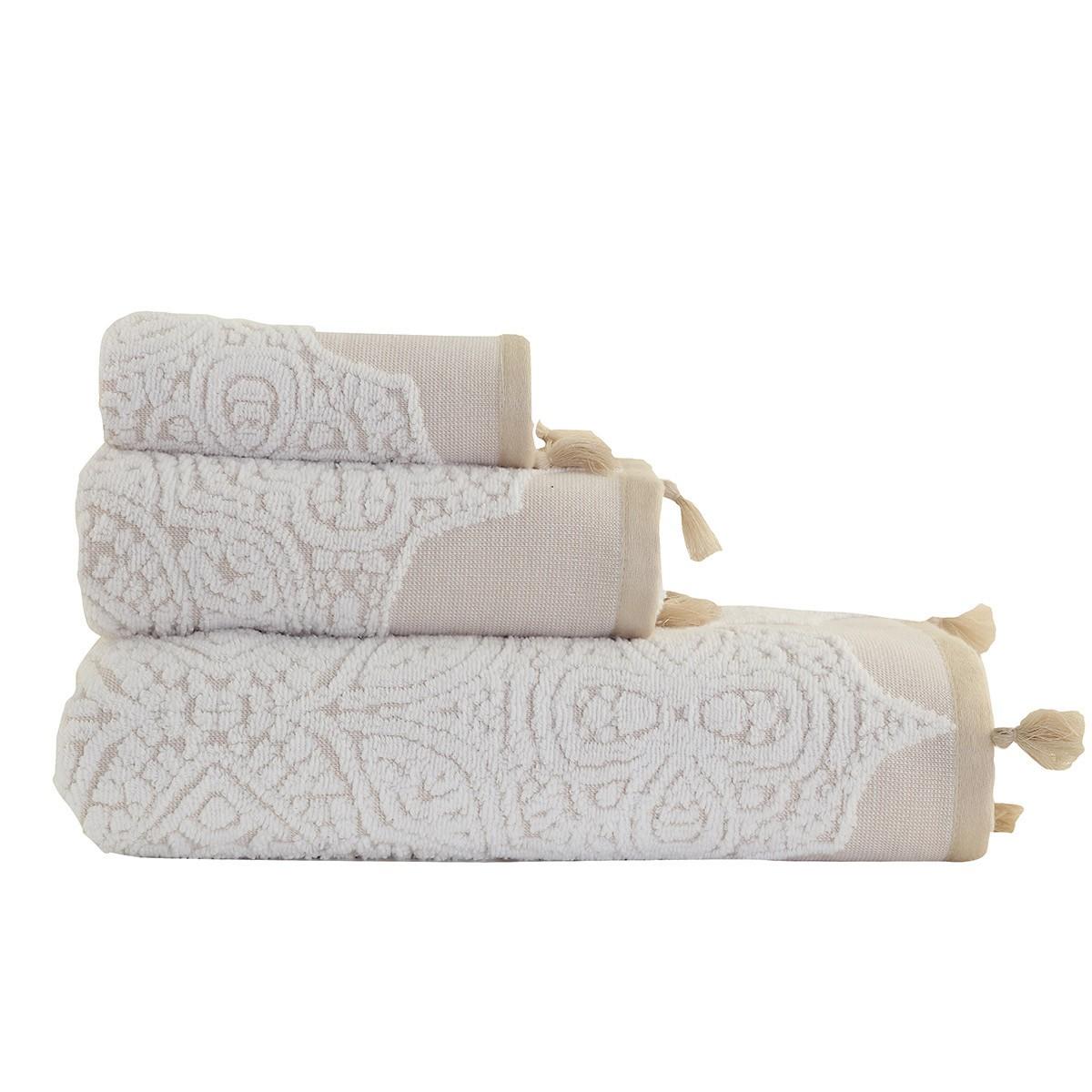 Πετσέτα Χεριών (30x50) Nef-Nef Henna Linen