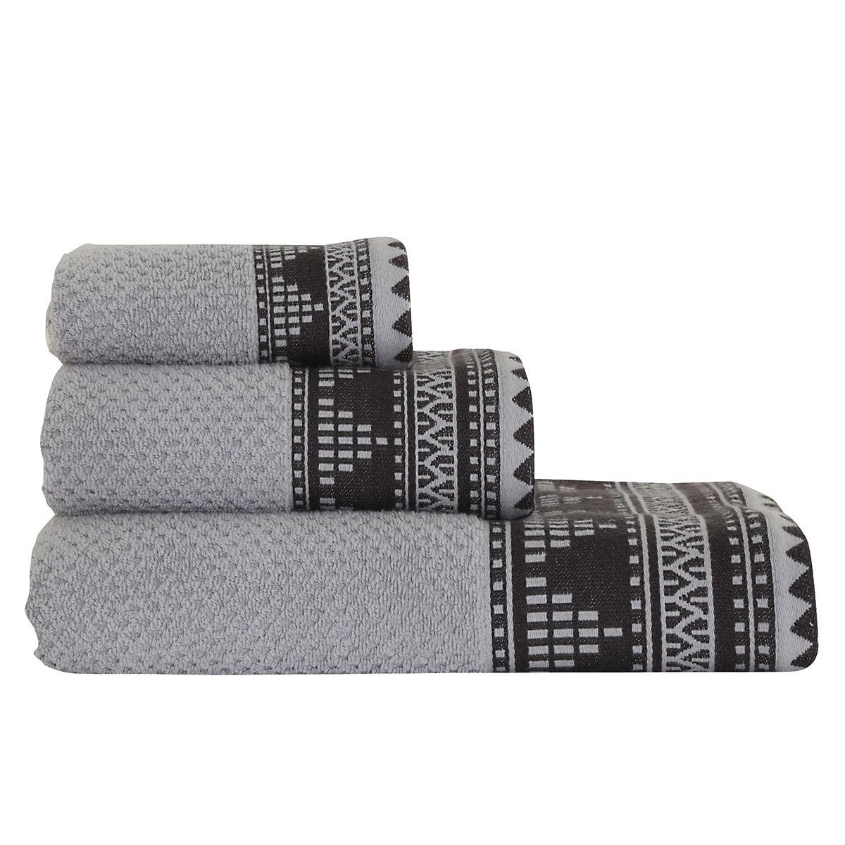 Πετσέτα Προσώπου (50×90) Nef-Nef Mercy Grey