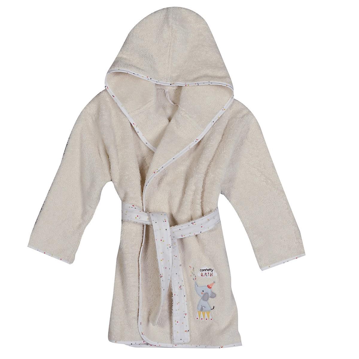 Βρεφικό Μπουρνούζι Nef-Nef Baby Confetti Rain Νο2 Νο2