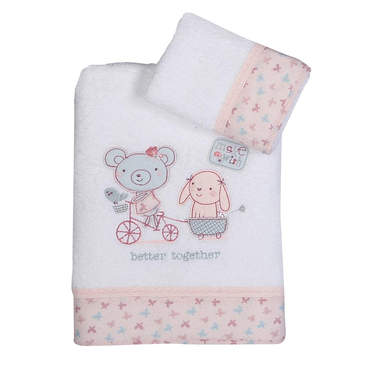 Βρεφικές Πετσέτες (Σετ 2τμχ) Nef-Nef Baby Better Together