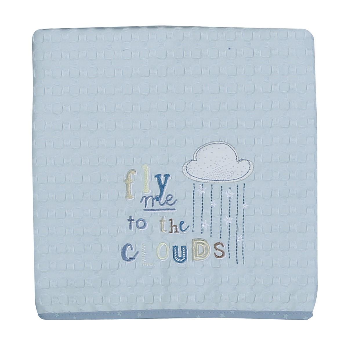 Κουβέρτα Πικέ Κούνιας Nef-Nef Baby Clouds