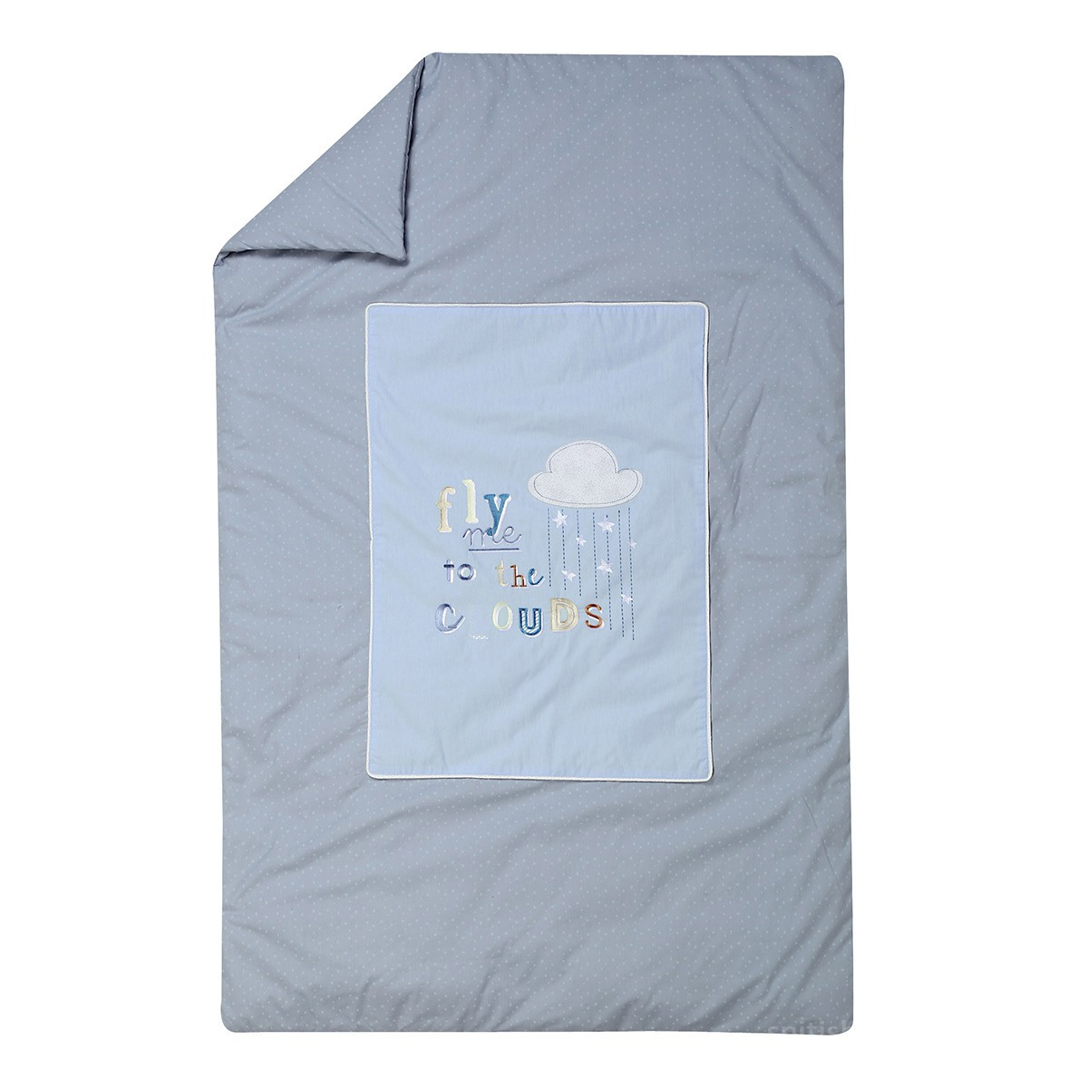Κουβερλί Κούνιας Nef-Nef Baby Clouds