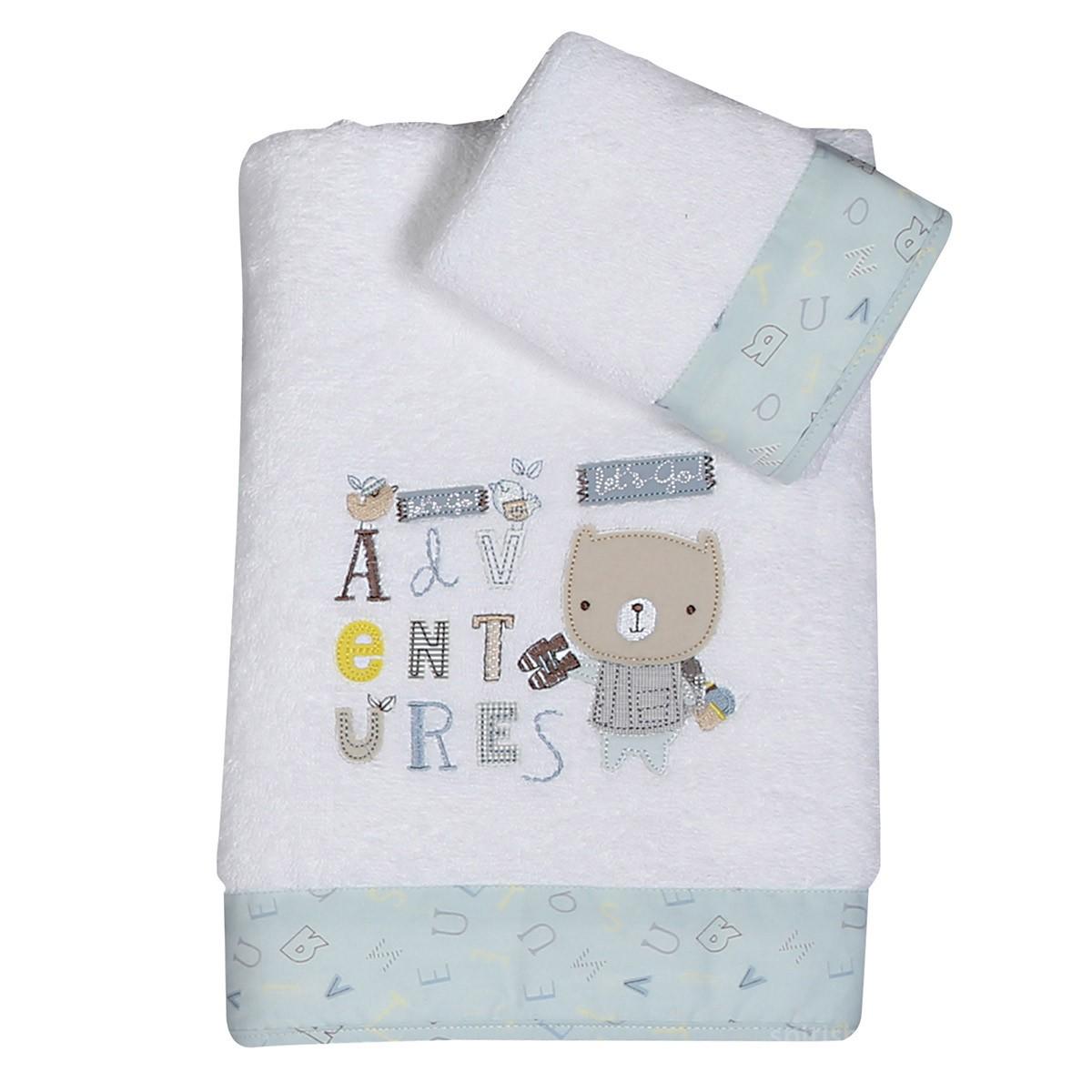 Βρεφικές Πετσέτες (Σετ 2τμχ) Nef-Nef Baby Safari 88803