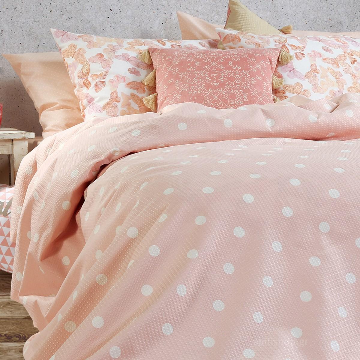 Κουβερτόριο Υπέρδιπλο Nef-Nef Posto Pink home   κρεβατοκάμαρα   κουβέρτες   κουβέρτες καλοκαιρινές υπέρδιπλες