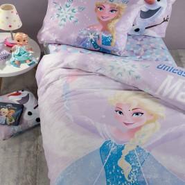Παπλωματοθήκη Μονή (Σετ) Nef-Nef Disney Frozen Magic