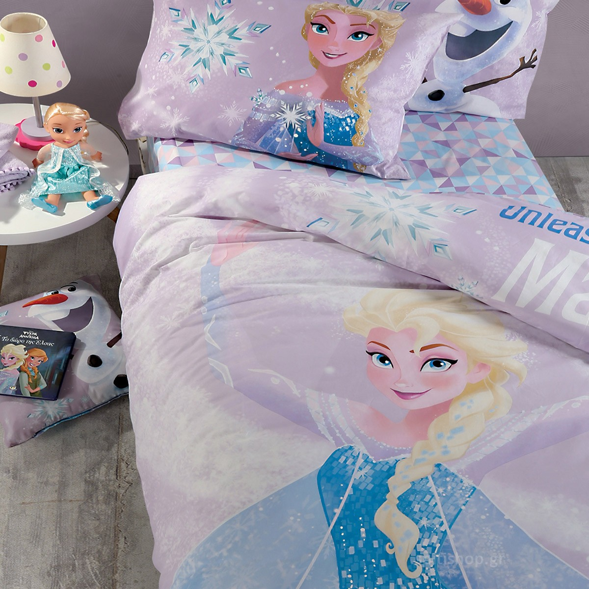 Παπλωματοθήκη Μονή (Σετ) Nef-Nef Disney Frozen Magic 88860