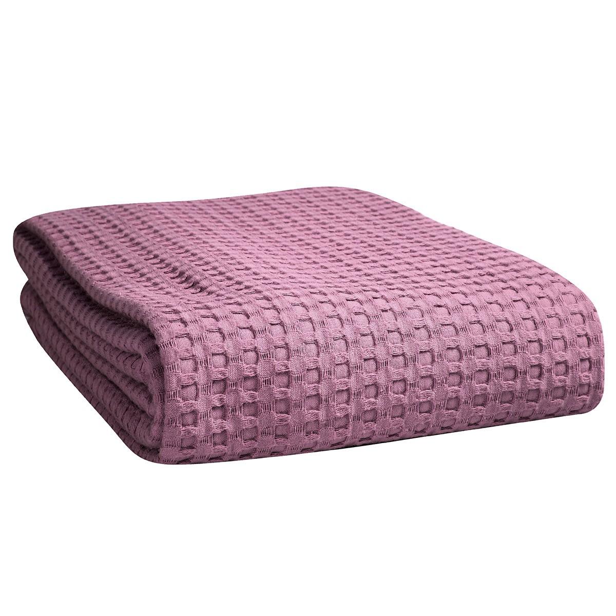Κουβέρτα Πικέ Μονή Nef-Nef Golf Violet