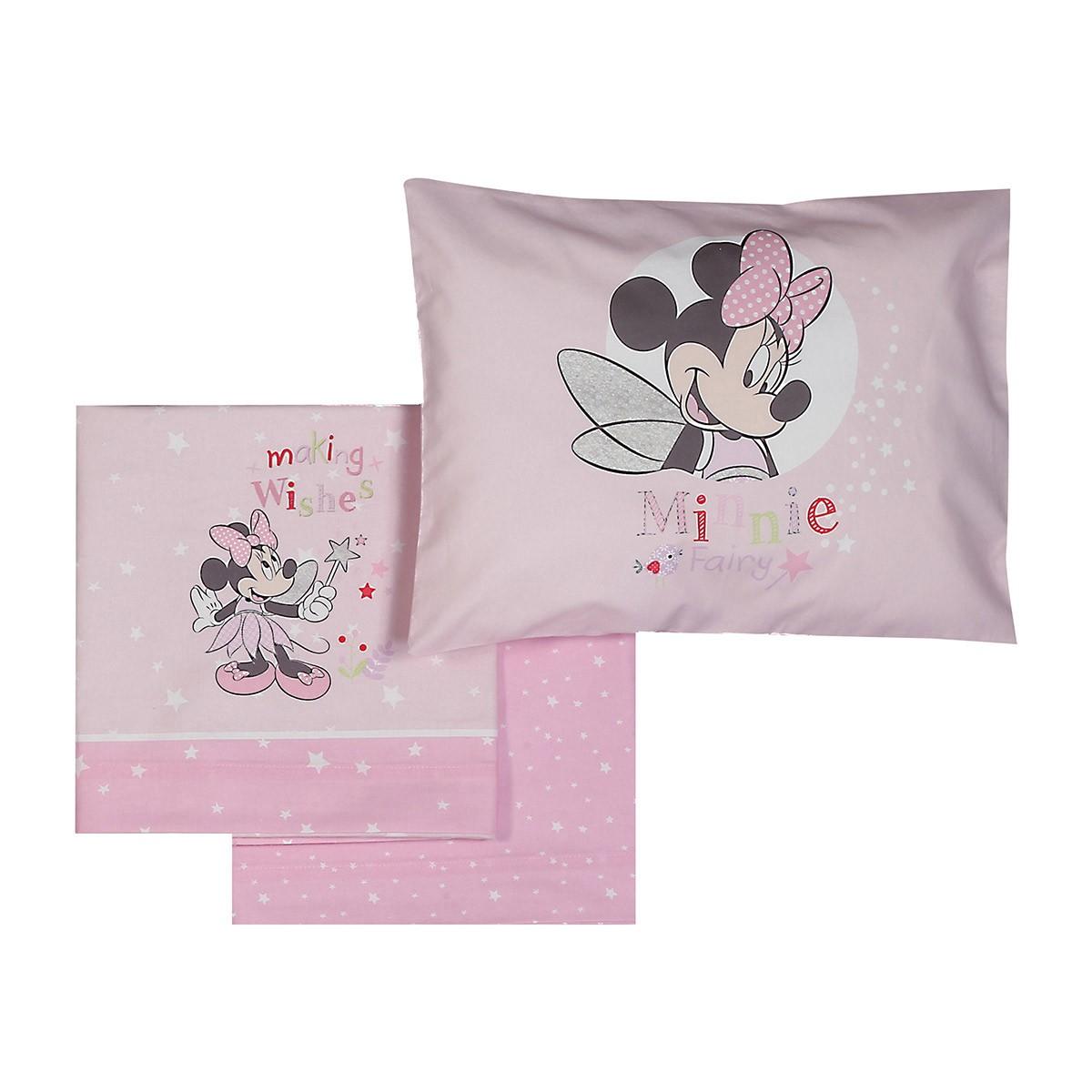 Σεντόνια Κούνιας (Σετ) Nef-Nef Disney Minnie Fairy