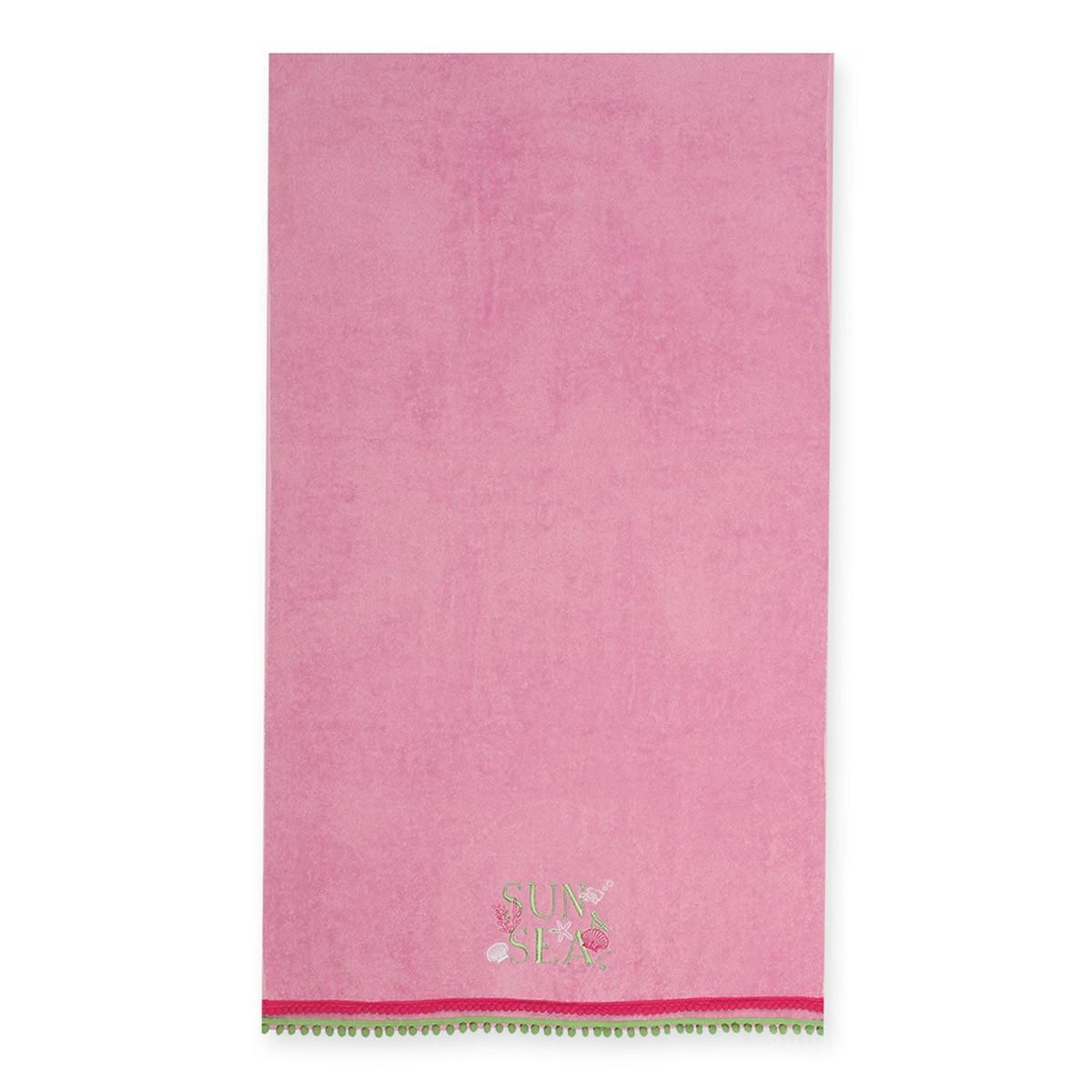 Παιδική Πετσέτα Θαλάσσης Nef-Nef Sun & Sea Pink