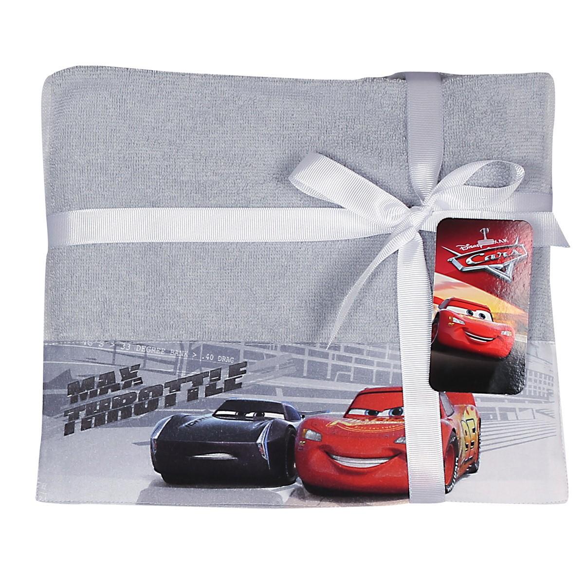 Παιδικές Πετσέτες (Σετ 2τμχ) Nef-Nef Disney Cars Max Throttle home   παιδικά   πετσέτες παιδικές