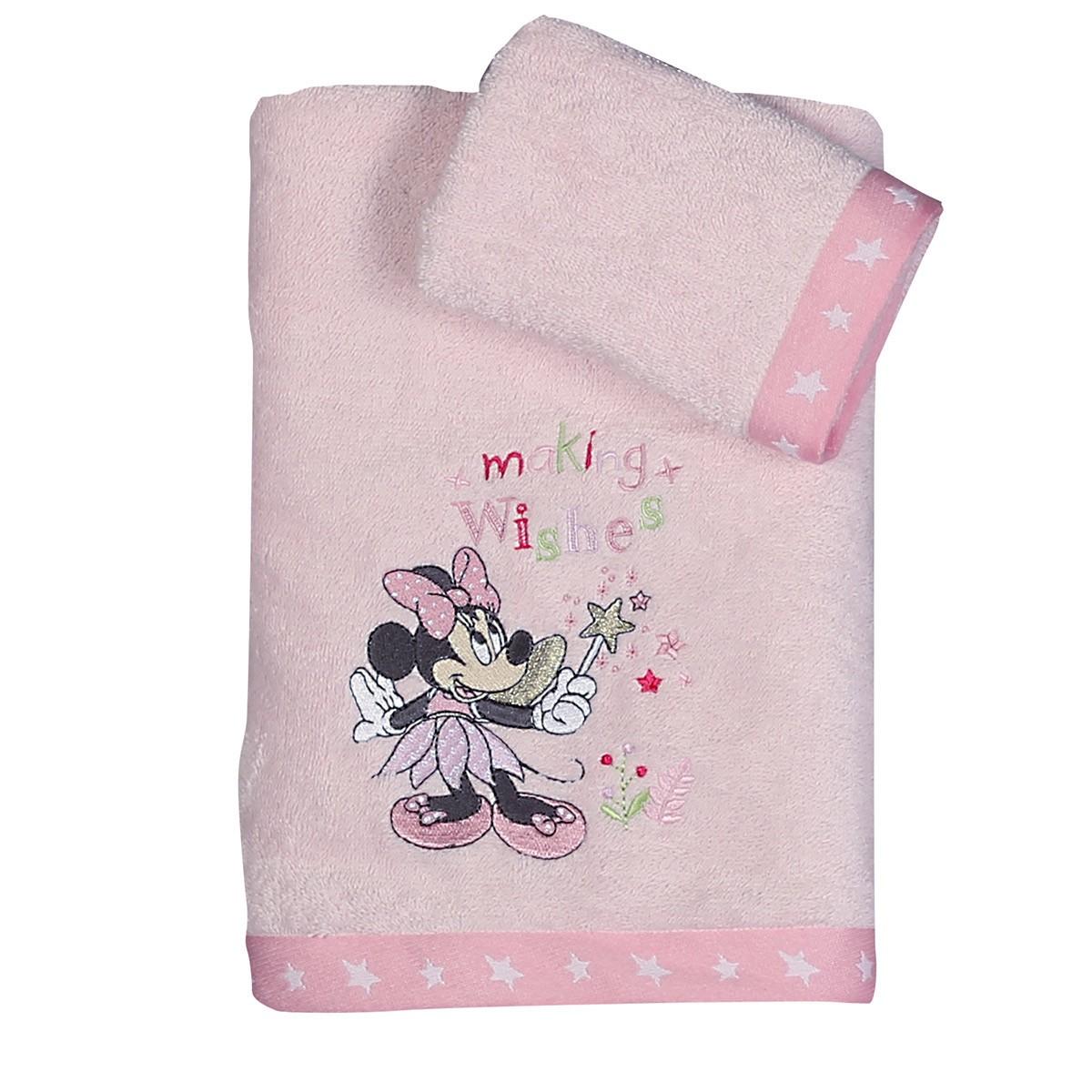 Βρεφικές Πετσέτες (Σετ 2τμχ) Nef-Nef Disney Minnie Fairy 88905