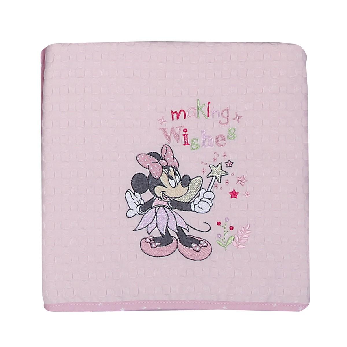 Κουβέρτα Πικέ Αγκαλιάς Nef-Nef Disney Minnie Fairy